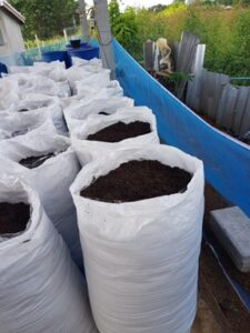 Finished Packaged Organic Fertilizer - Timcare Biotech